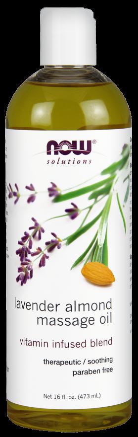 Lavendel mandel massageolie 16 oz = 475 cl