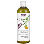 Lavendel mandel massageolie 16 oz = 475 cl